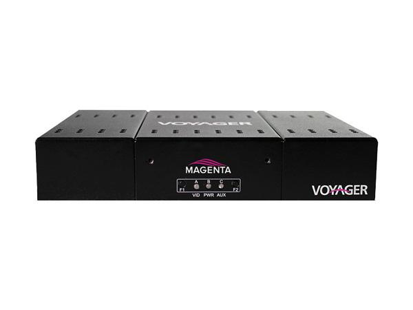 Magenta Research 2320008-01 2-P Fiber Optic Extender (Receiver)/scaling HDMI/RS-232