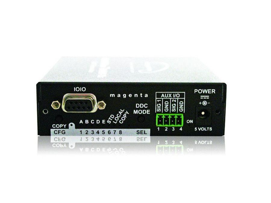Magenta Research 2620066-02 DVI Video with Stereo Audio and Duplex Serial UTP Transmitter DVI-TX-SA