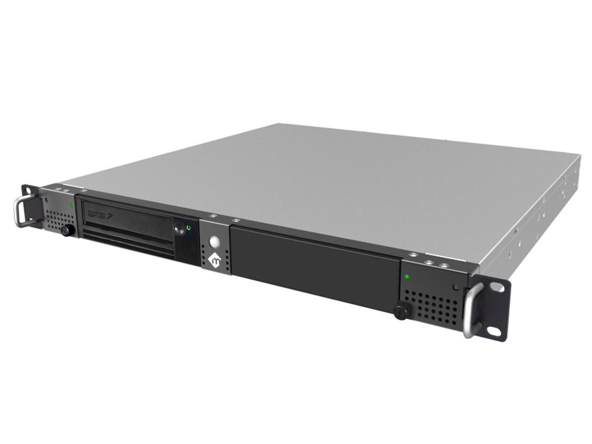 mLogic MLSAS-SR7-HBA 1U rack moutable tape backup/archiving solution with SAS/single LTO-7 drive/SAS HBA