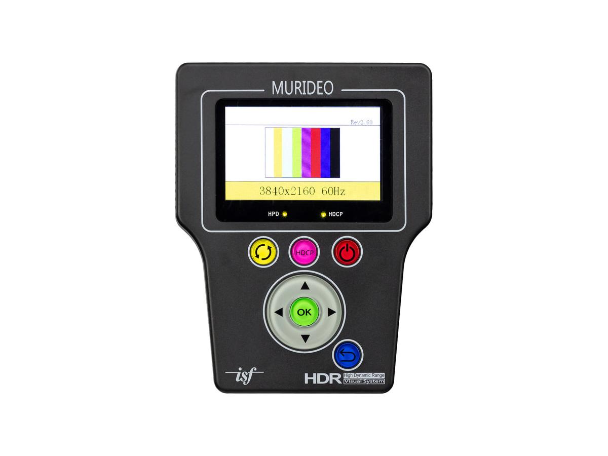 Murideo SIX-G HDMI 2.0 Test Pattern Generator/HDCP 2.2 Tester