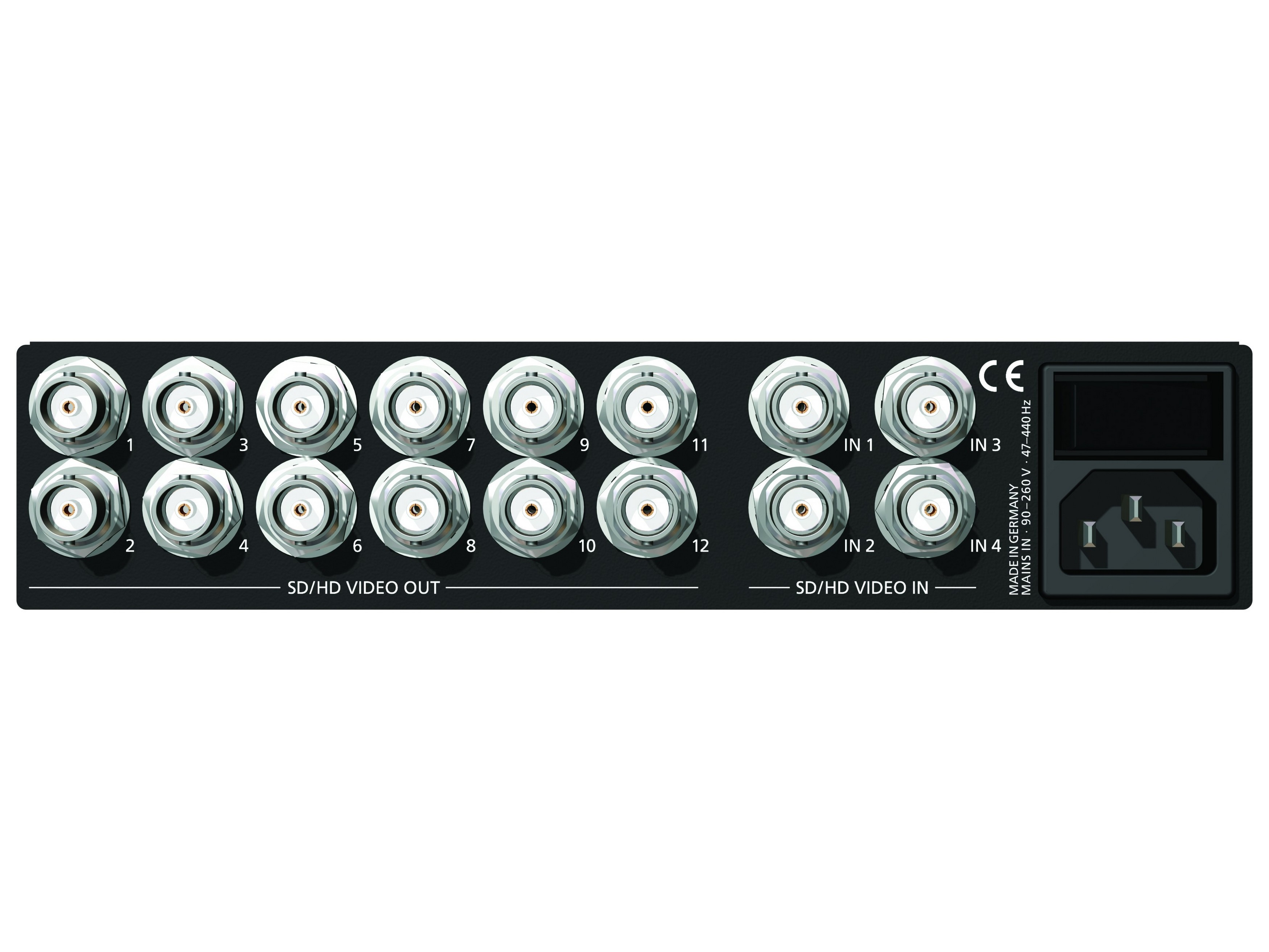 Mutec MC-5 SD/HD Video Routing Matrix and Distributor