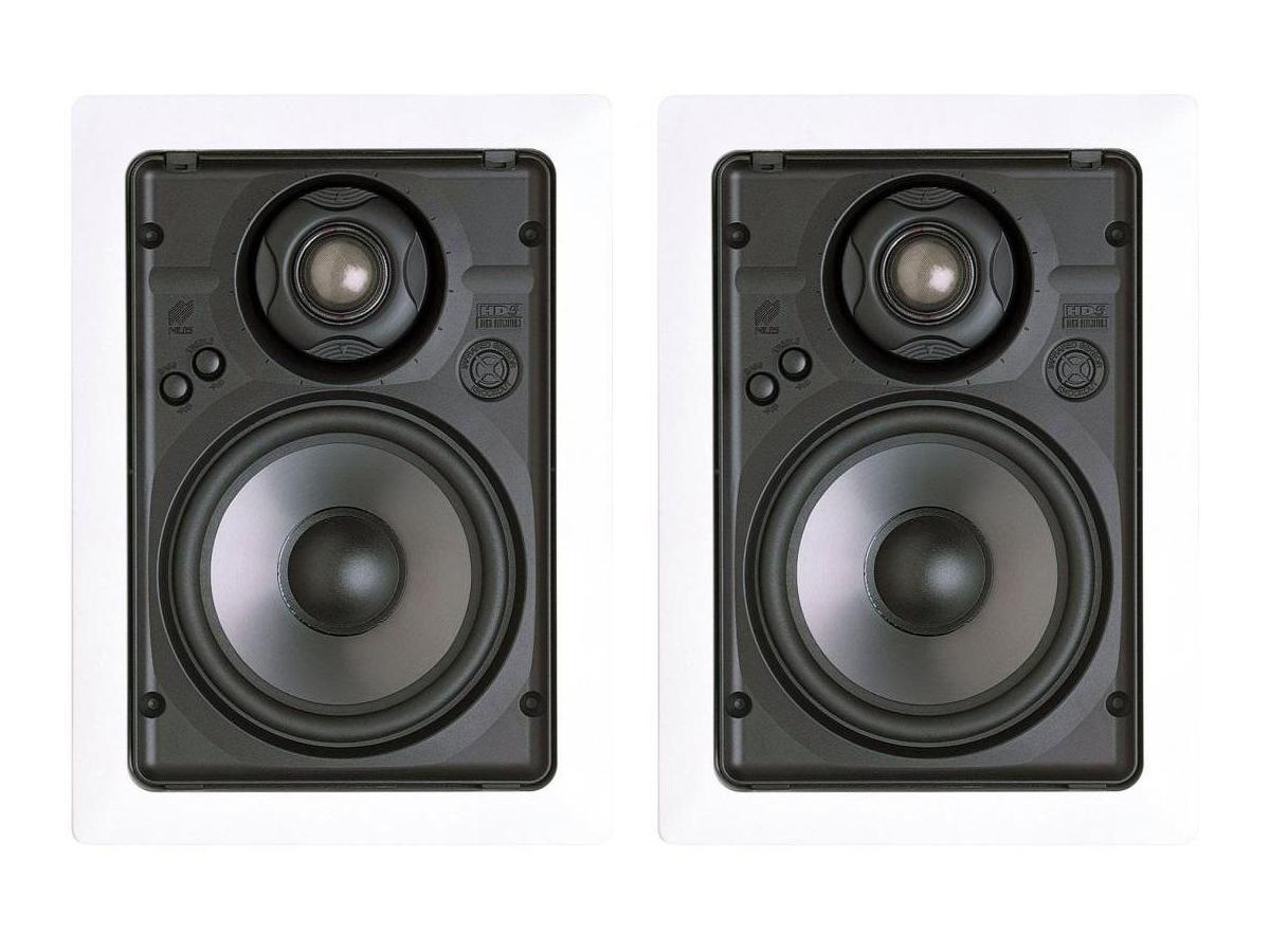 Niles HD5R 5-1/4 inch 2-Way In-Wall High Definition Loudspeaker/Includes Bracket/Pair
