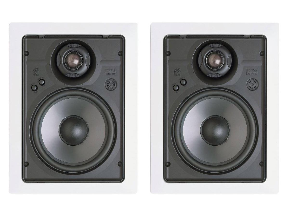 Niles HD6R 6-1/2 inch 2-Way/In-Wall High Definition Loudspeaker/Includes Bracket/Pair