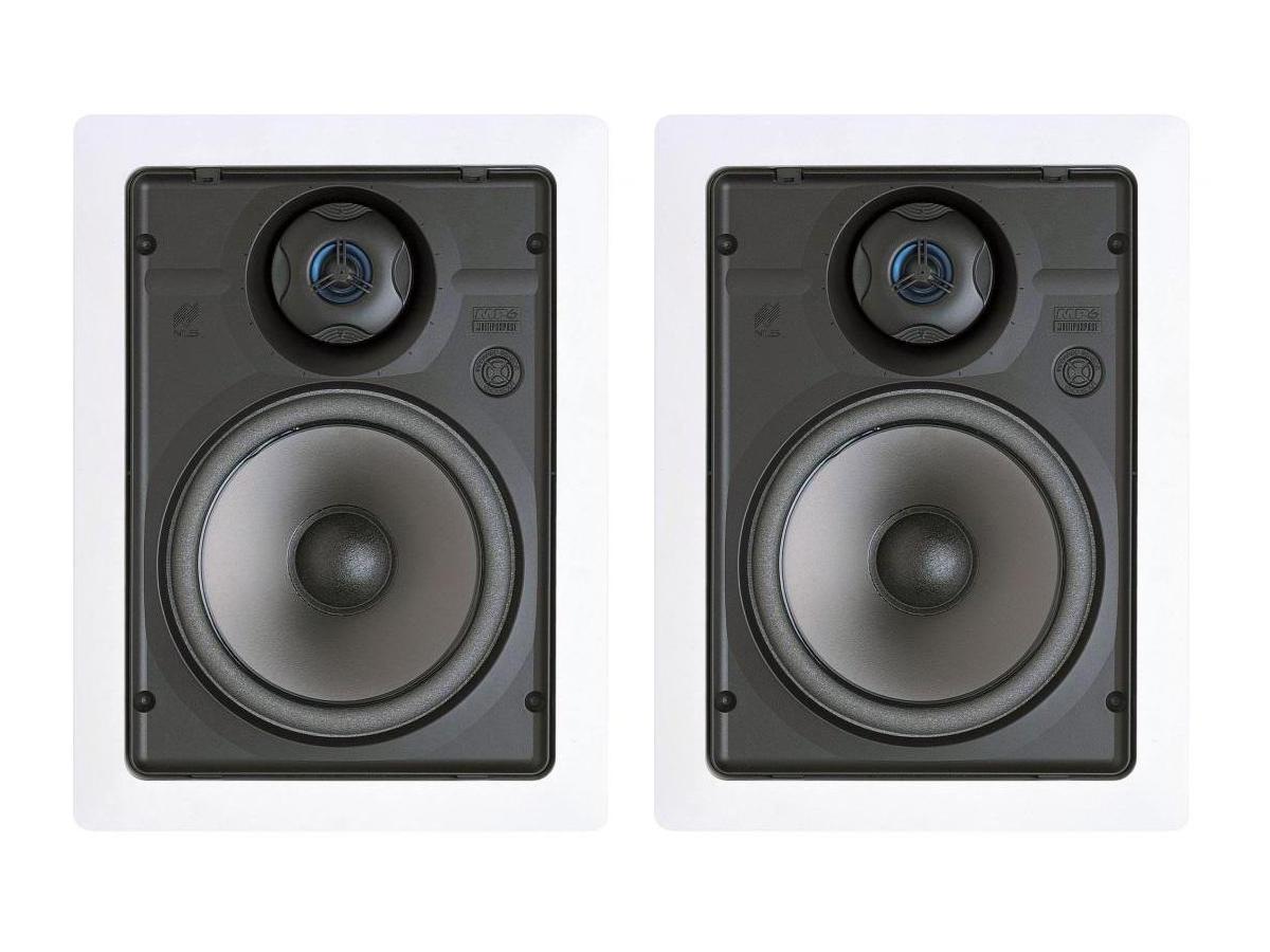 Niles MP6R 6-1/2 inch 2-Way/In-Wall Multipurpose Loudspeaker/Includes Bracket/Pair
