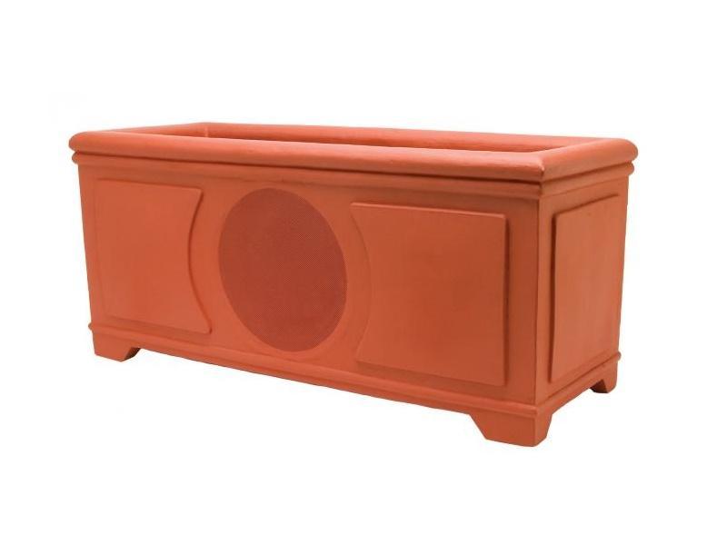 Niles PB6SIPRO Terracotta 6 inch 2-Way Terracotta High Performance Planter Box Loudspeaker