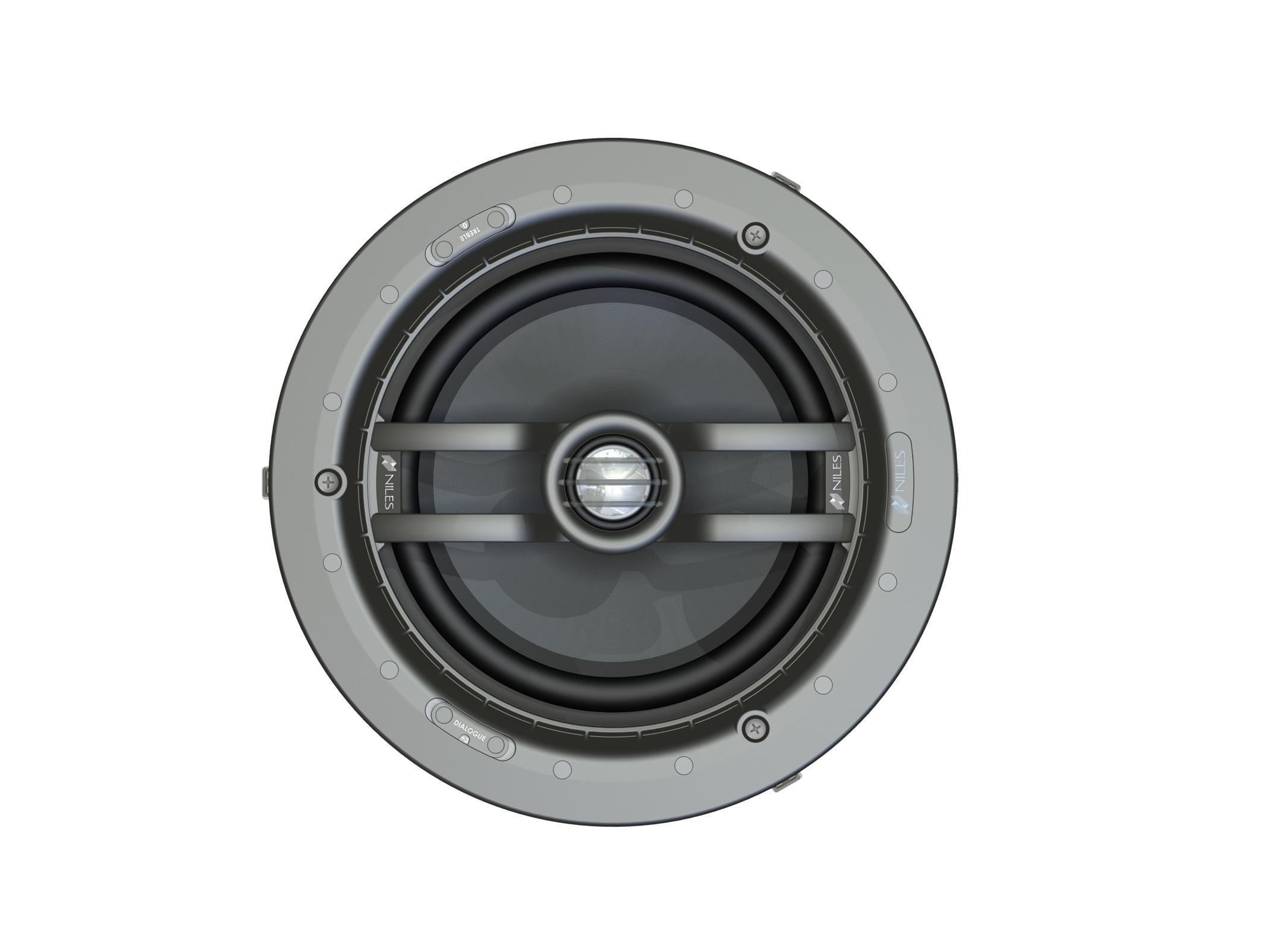 Niles CM8HD 8in 2-Way Ceiling-Mount Hi-Definition Loudspeaker w Pivoting Tweeter