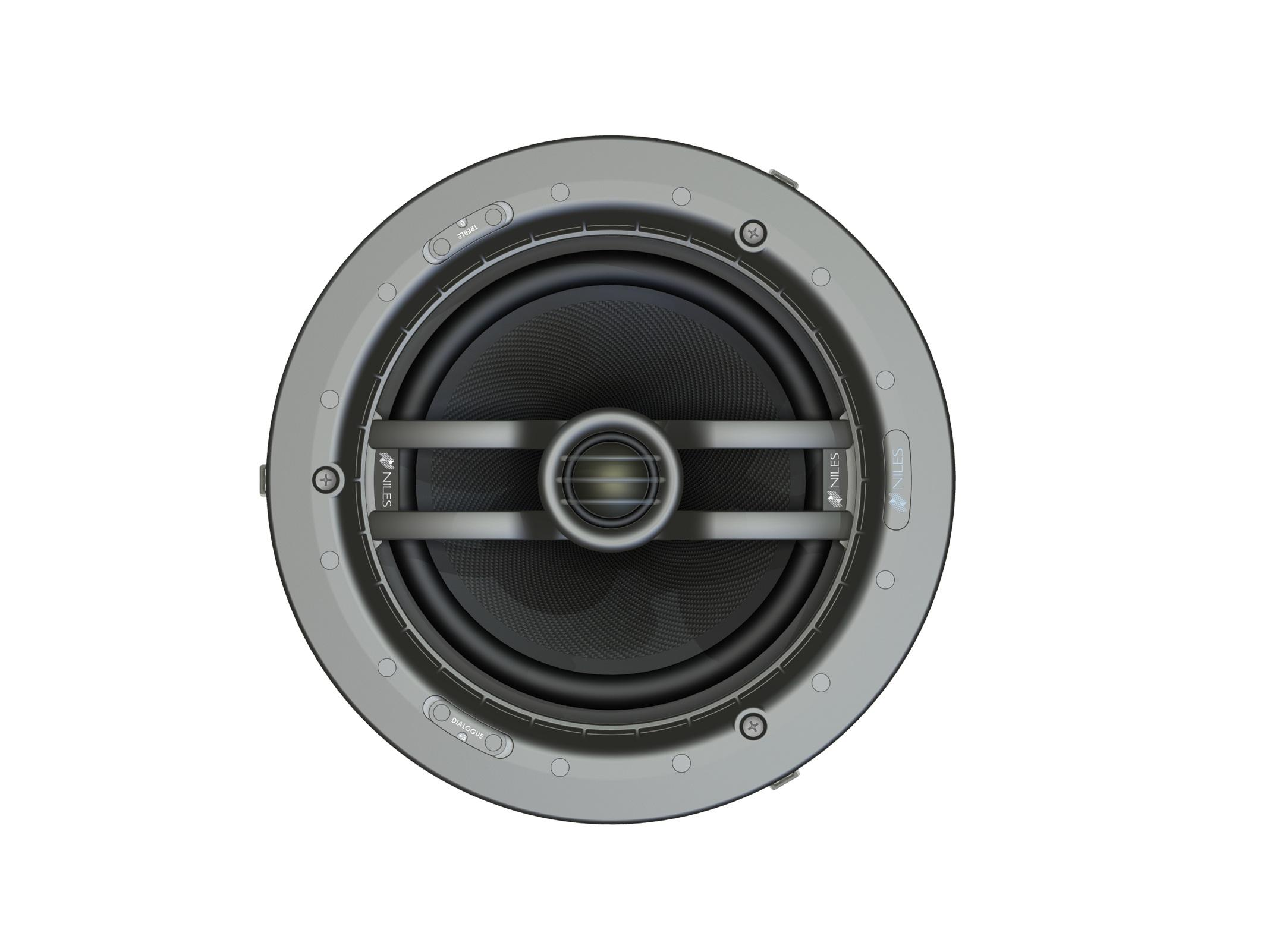 Niles CM8PR 8in 2-Way Ceiling-Mount Performance Loudspeaker w Pivoting Tweeter