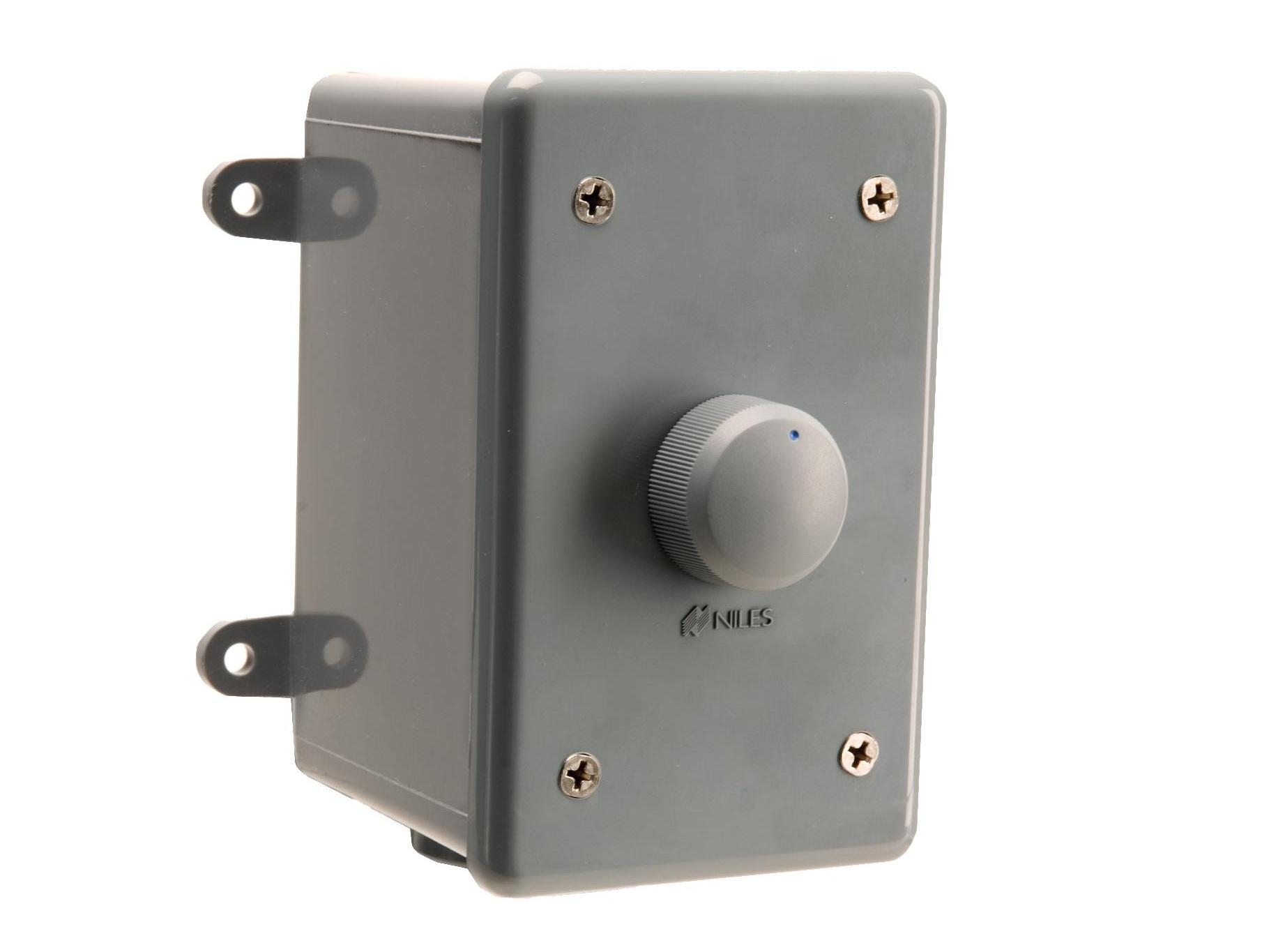 Niles WVC100E Weatherproof Stereo Volume Control (100-200W/54dB/1X-2X-4X-8X)