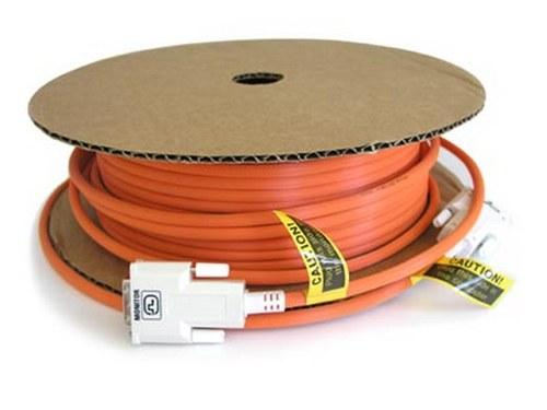 Ophit DDI-A100 330ft Fiber Optic DVI-D Cable EMI Shielded