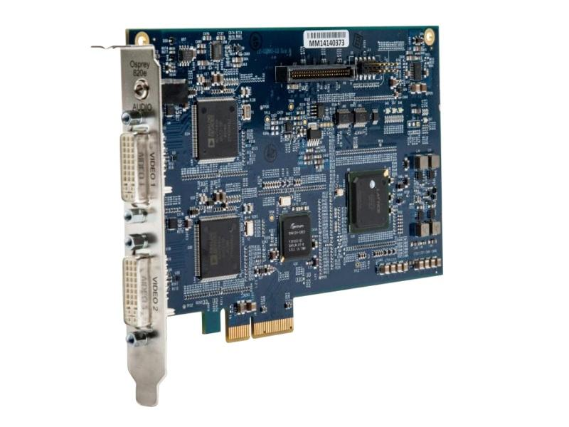 Osprey 95-00475 2-Channel DVI-I Video Capture Card (820e)