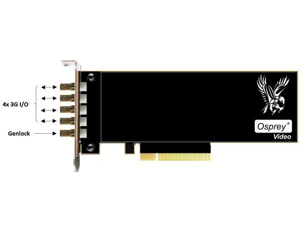 Osprey 95-00503 Quad 3G SDI All Channels I/O Capture Card (945)