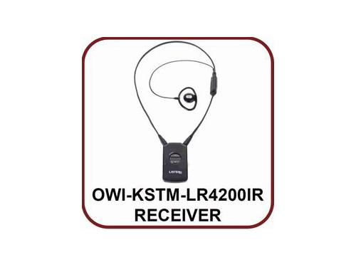 OWI OWI-KSTM-LR4200IR-P1 Intelligent DSP IR Extender (Receiver) with iDSP accessories