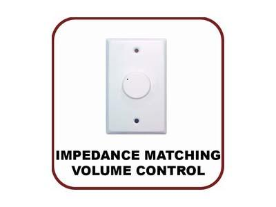 OWI WRVC100W-W 100W Impedance Matching Water Resistant Volume Control/White