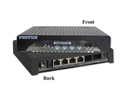 Patton CL1314/EUI-2PK 5.7 Mbps Long Range CopperLink Ethernet Extender (Local/Remote) Kit