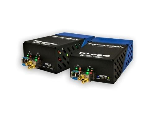 Patton TKIT-SDT2-S TD-6010 (Pair) Composite Video to SM Optical Conversion/Dual Channel/1310nm up to 20km
