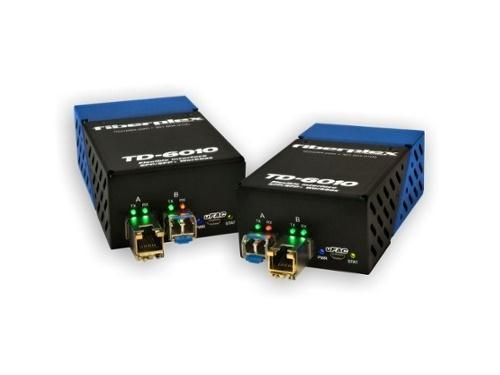 Patton TKIT-DANTE-S TD-6010 (Pair) Preconfigured DANTE/AVB to SM Optical Conversion/LC/1310nm/20km