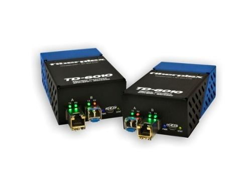 Patton TKIT-ETH-S TD-6010 (Pair) Preconfigured Base-T Ethernet to SM Optical Conversion/LC/1310nm/20km