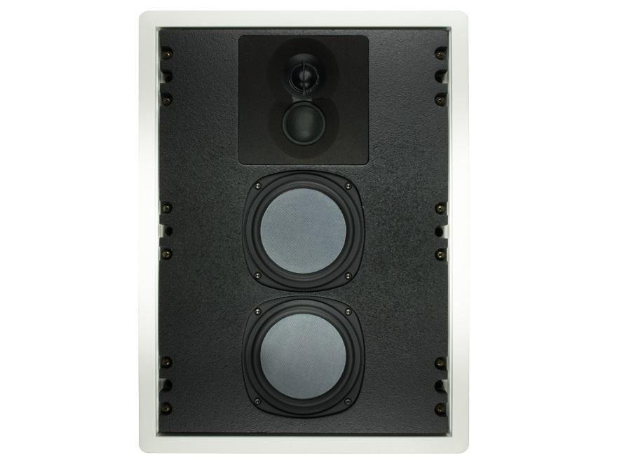 Phase Technology CI120 Dual 5.25in 3-Way In-Wall Speaker/55Hz-22kHz