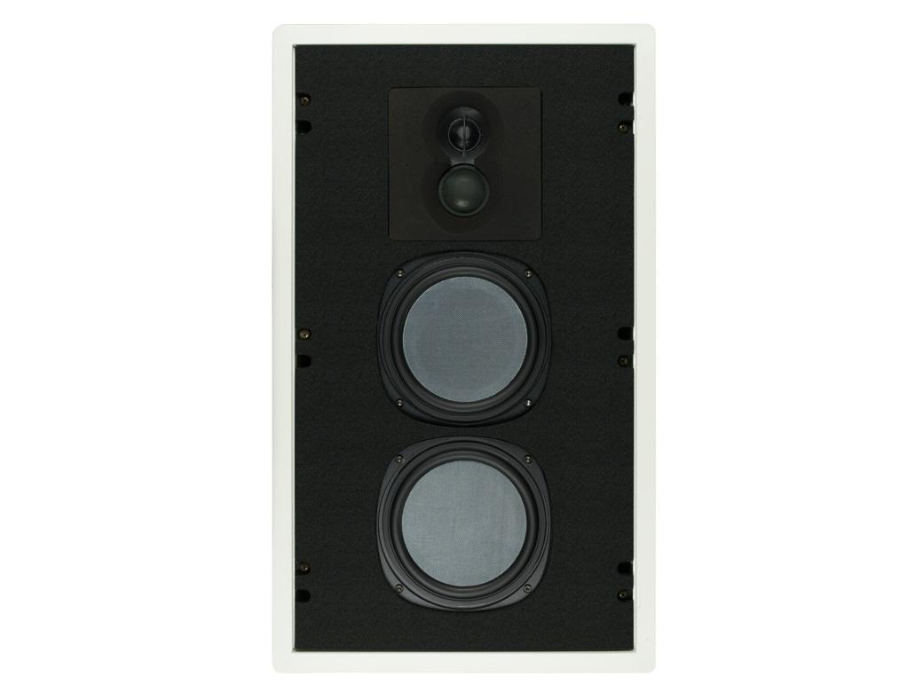 Phase Technology CI130 Dual 6.5in 3-Way In-Wall Speaker/45Hz-22kHz