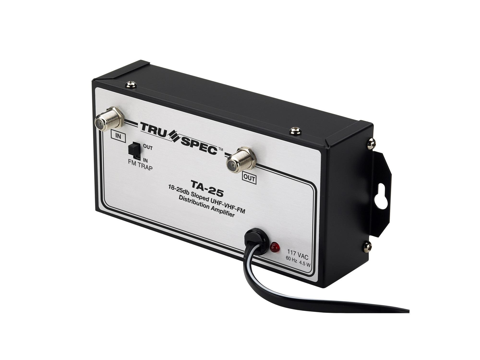 Pico Digital TA-25 18-25dB Sloped UHF/VHF/FM Dist Amplifier