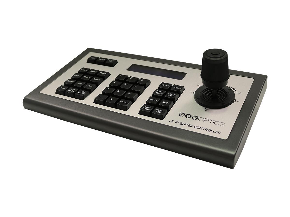 PTZOptics PT-JOY-G3 Third Generation Visca over IP Joystick Keyboard with PoE