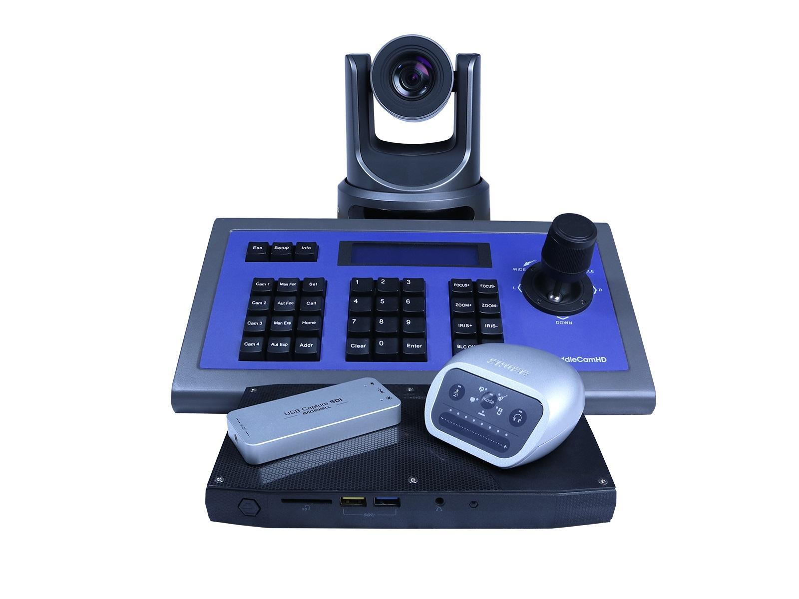 PTZOptics PT-PRODUCER-30X PTZOptics 30X Live Streaming Kit (2 Camera Maximum)
