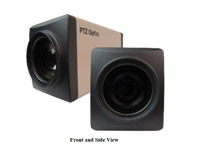 PTZOptics PT20X-NDI-ZCAM PTZOptics 20X 1080p NDI/HD-SDI Box Camera (White)