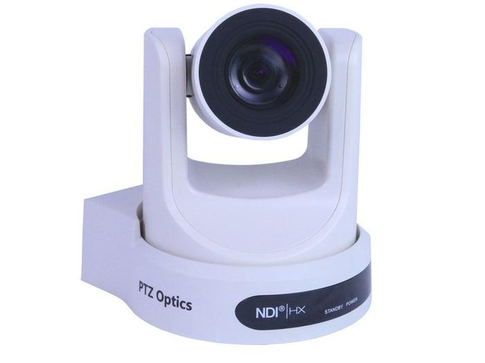 PTZOptics PT30X-NDI-WH 30X 1920x1080p Optical Zoom NDI/HX/3G-SDI/HDMI/ CVBS/IP Streaming