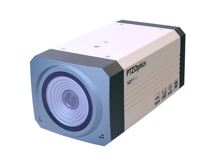 PTZOptics PTEPTZ-NDI-ZCAM-G2 1920x1080/30FPS/100 HFOV/HD-SDI IP Camera with US Power Supply (White)