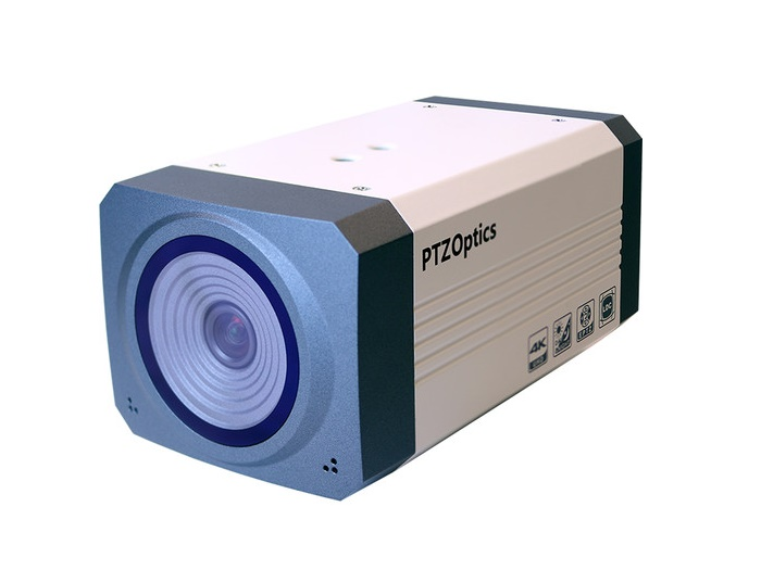 PTZOptics PTEPTZ-ZCAM-G2 1920x1080/30FPS/100 HFOV/HD-SDI IP Camera with US Power Supply (White)