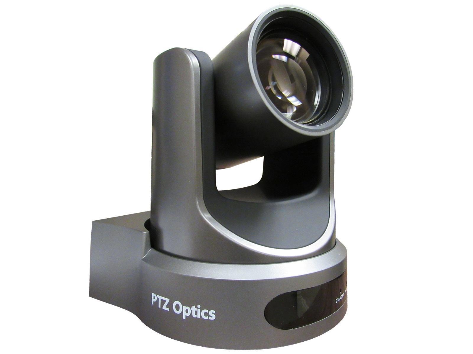 PTZOptics PT20X-NDI-GY 20X Optical Zoom NDI/3G-SDI/HDMI/CVBS/IP Streaming  Camera/Gray