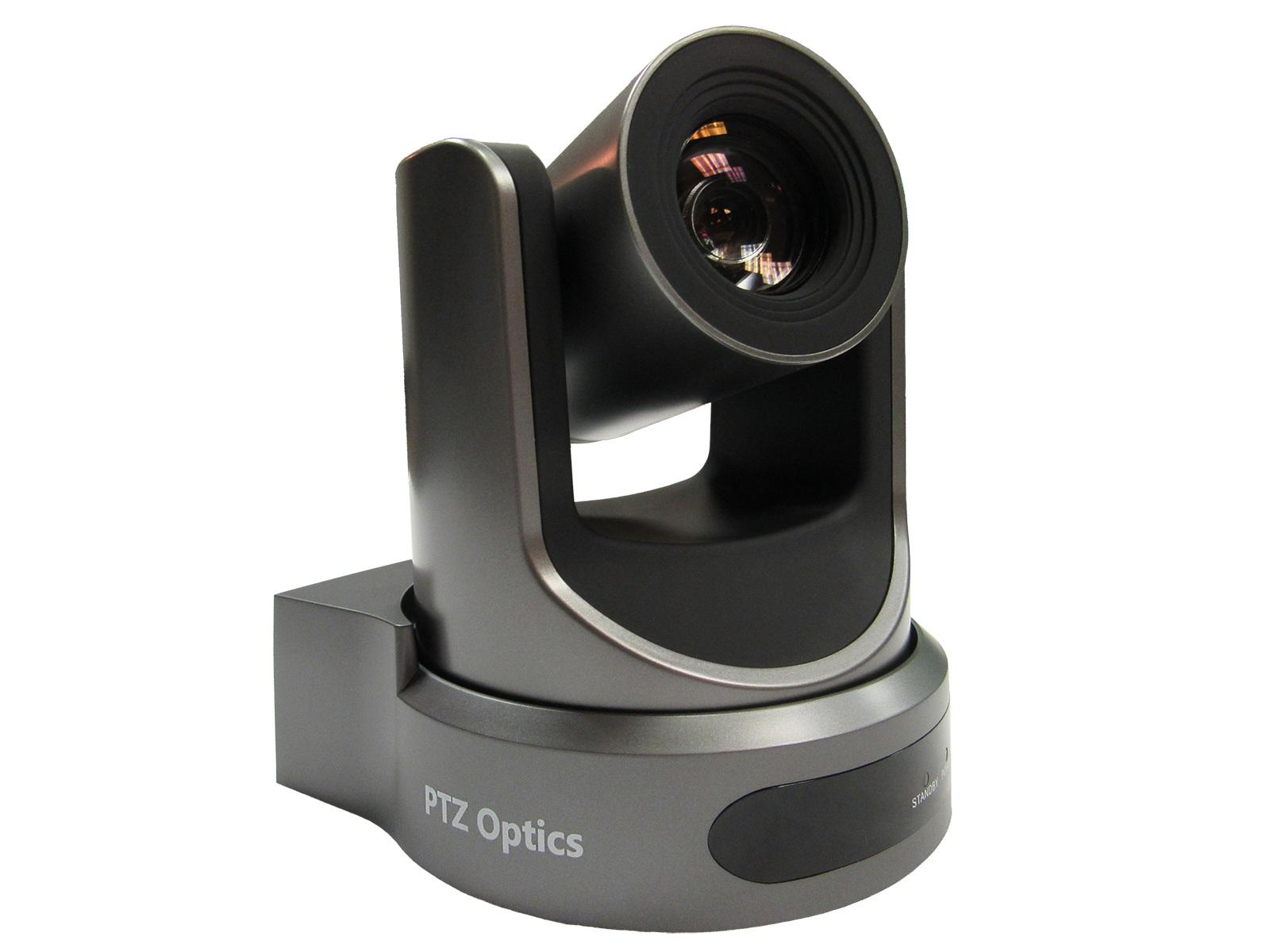 PTZOptics PT20X-USB-GY-G2 20X USB 3.0 HDMI Live Streaming Camera (Gray)
