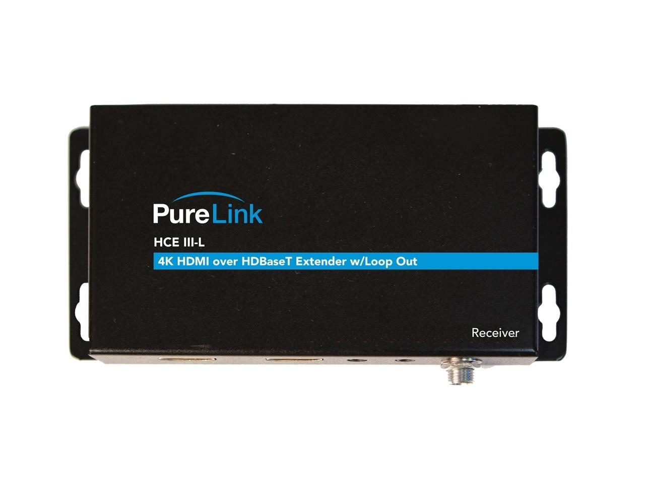 PureLink HCE III-L Rx HDTools 4K HDMI/HDR/IR and RS-232/Bi-directional PoE over HDBaseT Extender (Receiver)