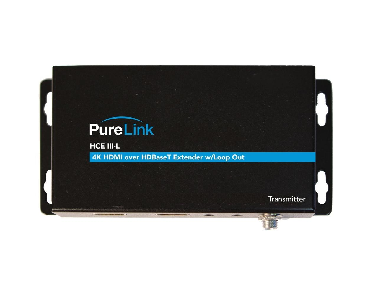 PureLink HCE III-L Tx HDTools 4K HDMI/HDR/IR and RS-232/Bi-directional PoE over HDBaseT Extender (Transmitter)