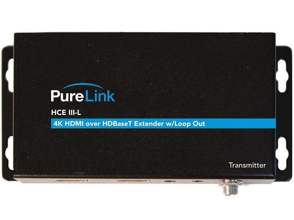 PureLink HCE III-L TX/RX 4K/60 HDR HDMI/HDBaseT Extender (Transmitter/Receiver) System with Loop Out