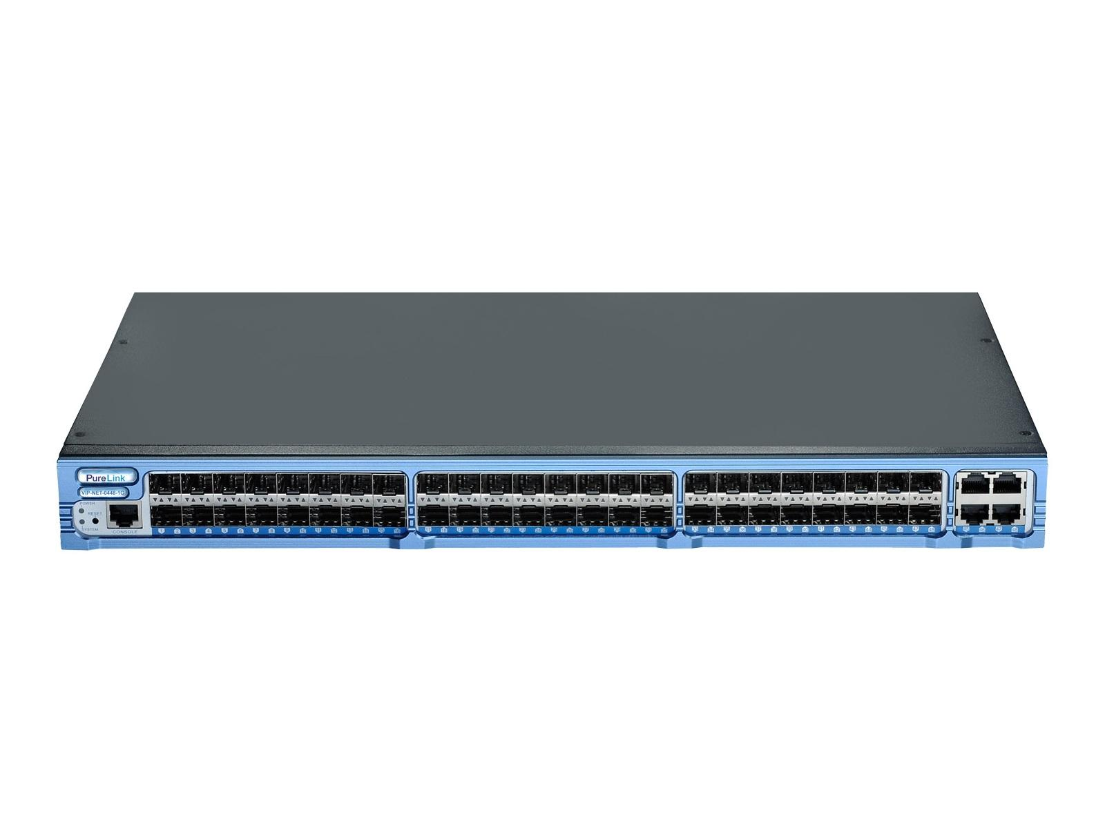 PureLink VIP-NET-0448-1G Gigabit Network Switch/48 Port 1000Base-X SFP/4 Port 1000Base-T