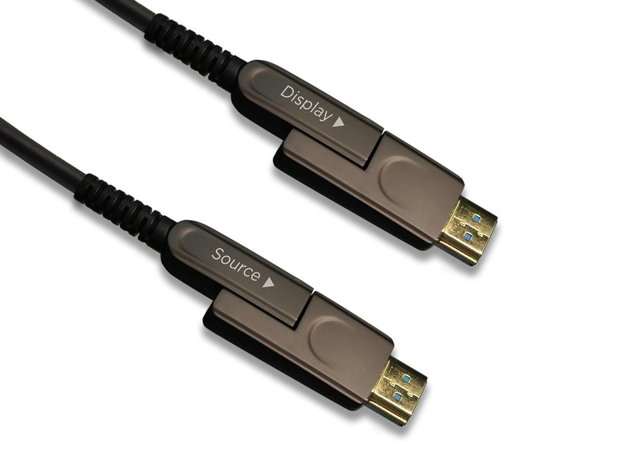 PureLink EZH2-DT-050 50m/165ft EZ Detachable HDMI 2.0 over Fiber Cable with TotalWire Technology