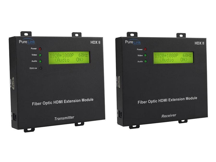 PureLink HDX II-030 Modular HDMI Fiber Optic Extension Cable System HDX II-030 (100ft)