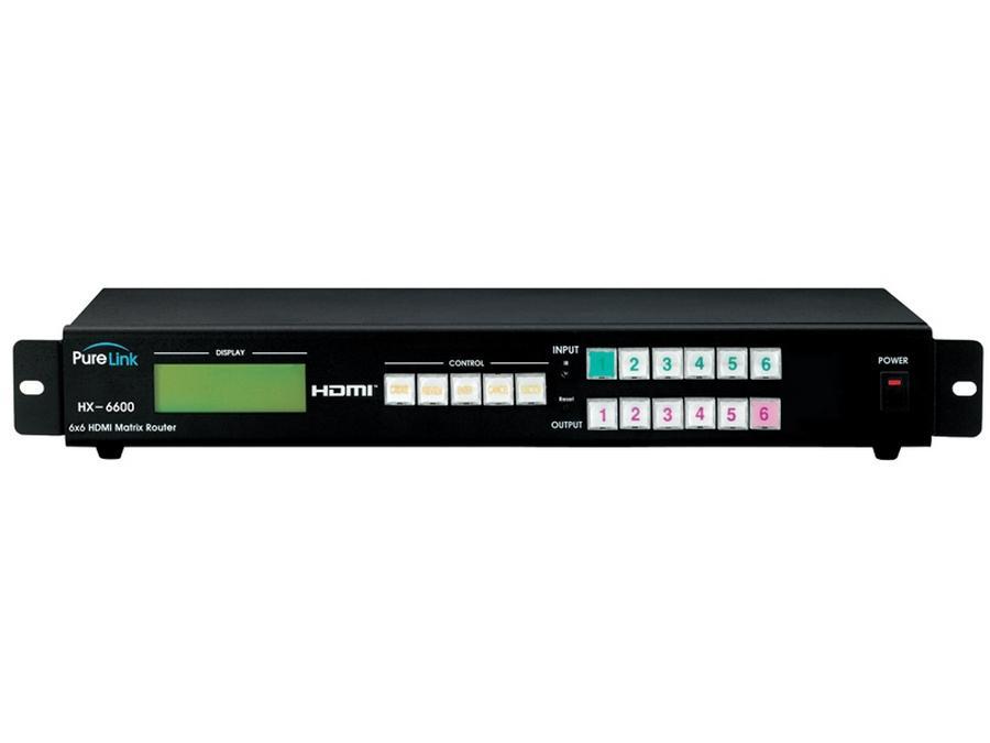 PureLink HX-6600 PRO 6x6 HDMI Matrix Router HX-6600 PRO