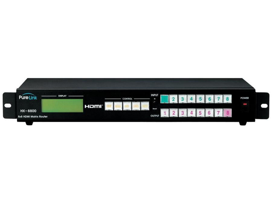 PureLink HX-8800 PRO 8x8 HDMI Matrix Router HX-8800 PRO