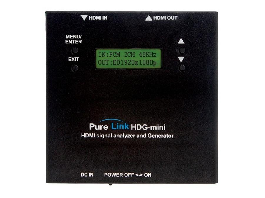PureLink HDG-mini HDMI/DVI Full HD Signal Analyzer
