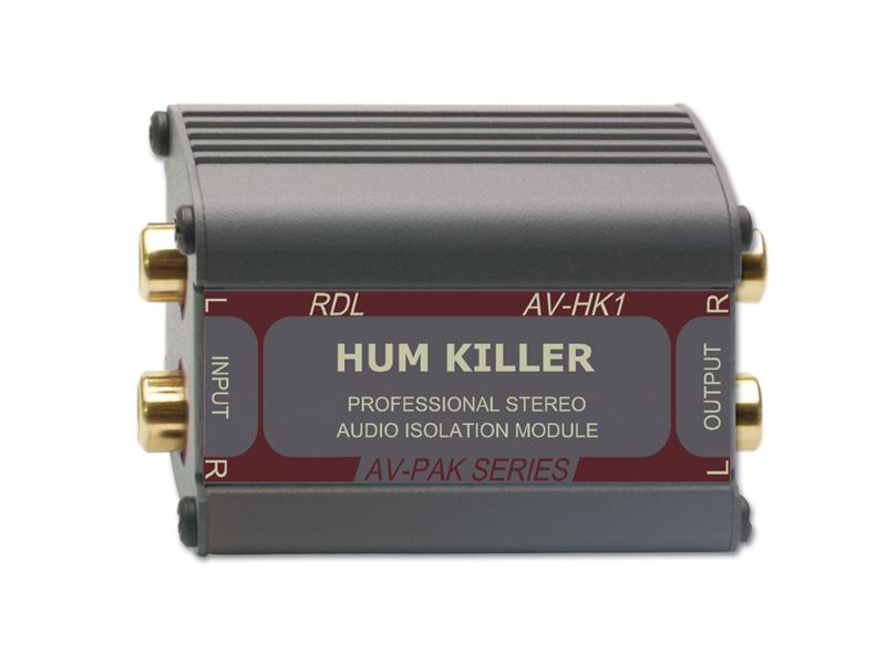 RDL AV-HK1 HUM KILLER Stereo Audio Isolation Module