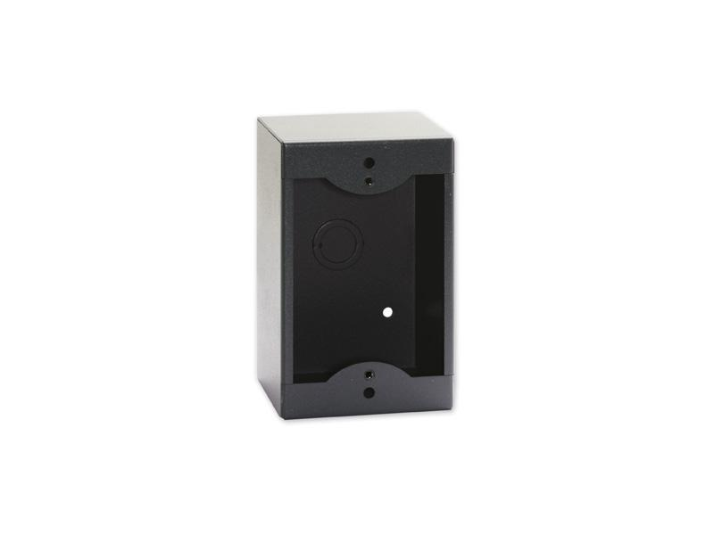 RDL SMB-1B Single Surface Mount Box for Decora Remote Controls and Panels/Black