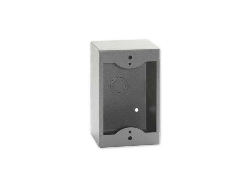 RDL SMB-1G Single Surface Mount Box for Decora Remote Controls and Panels/Gray