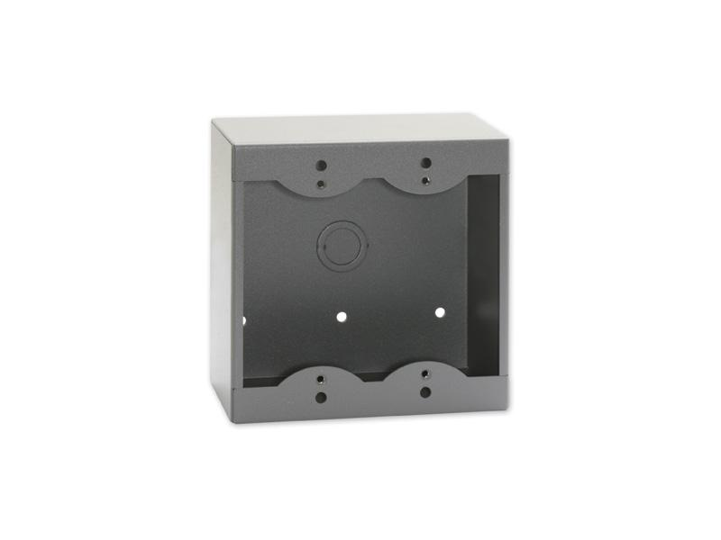 RDL SMB-2G Double Surface Mount Box for Decora Remote Controls and Panels/Gray
