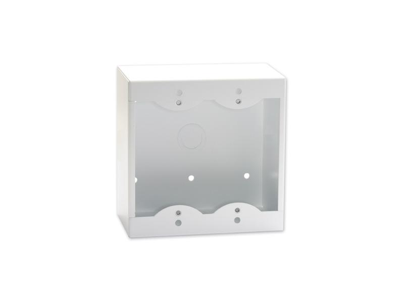 RDL SMB-2W Double Surface Mount Box for Decora Remote Controls and Panels/White