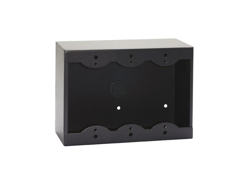 RDL SMB-3B Triple Surface Mount Box for Decora Remote Controls and Panels/Black