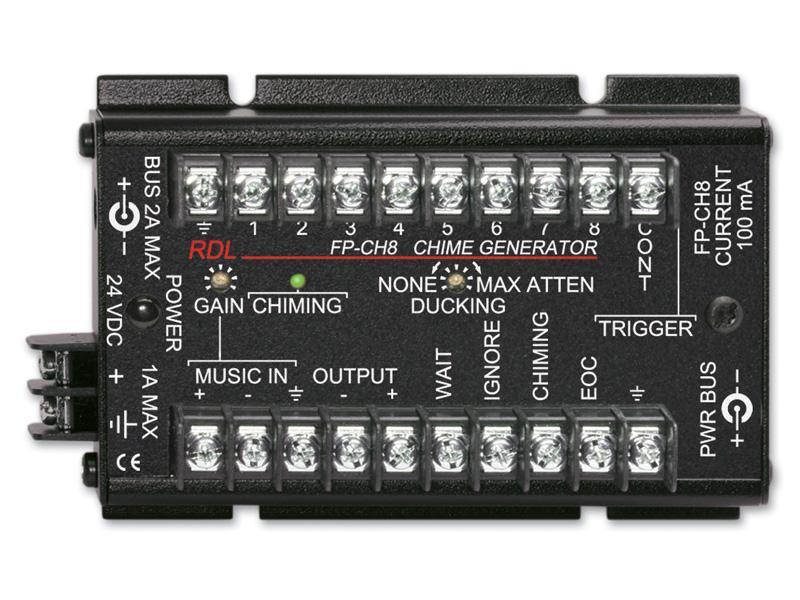 RDL FP-CH8 2 channel Balanced to Unbalanced Converter