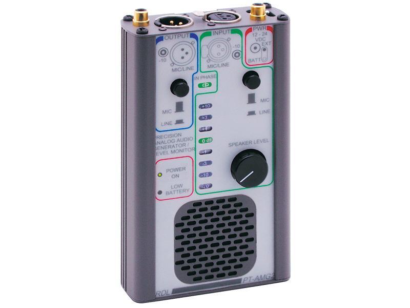 RDL PT-AMG2 Portable Audio Signal Generator and Monitor