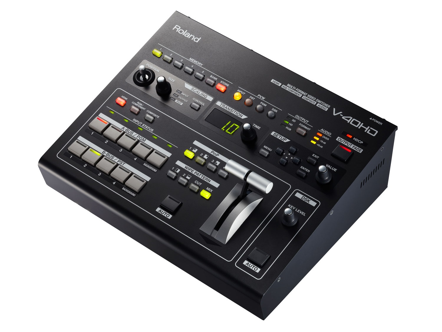 Roland V-40HD 4-Channel Multi-Format Video Switcher